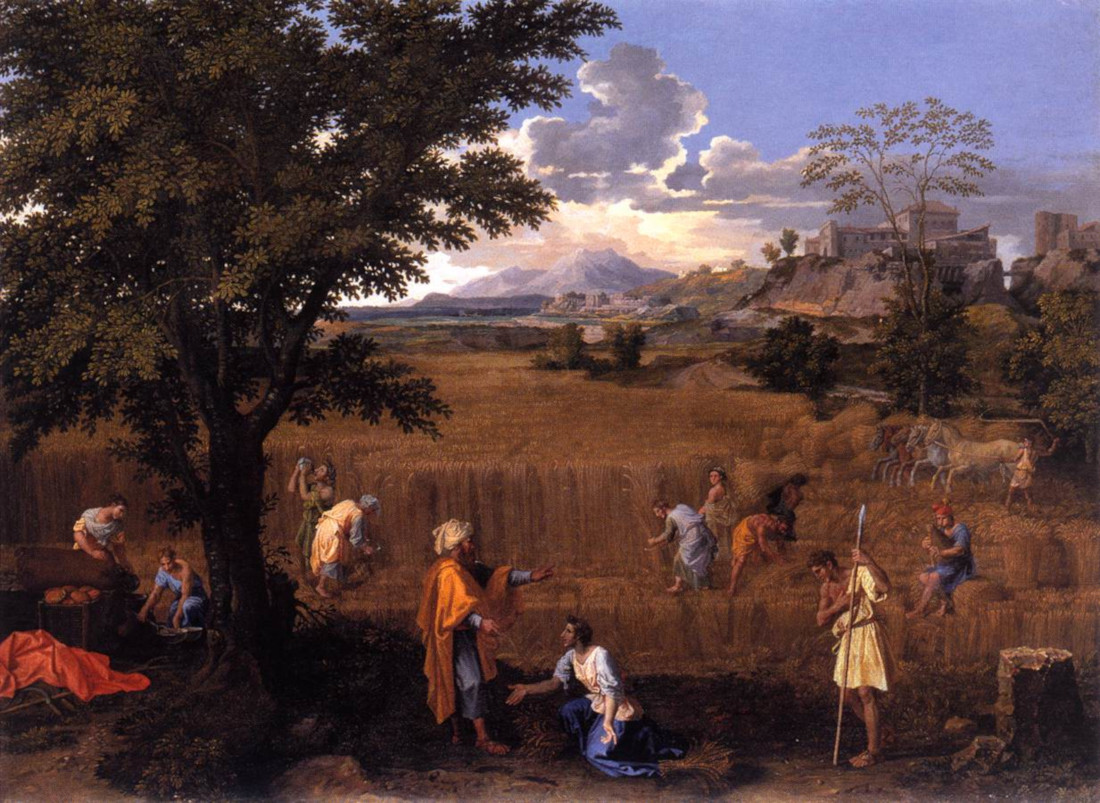 Nicolas Poussin: Summer (Boaz and Ruth)