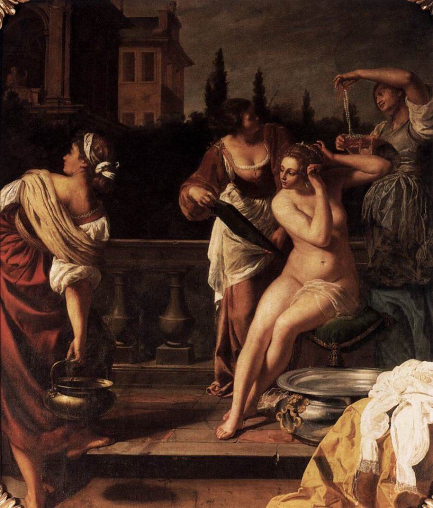  Gentileschi bathsheba painting