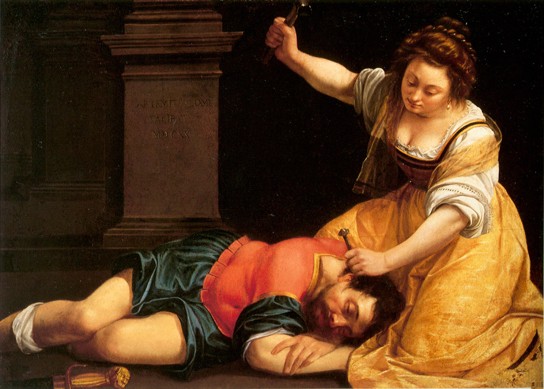  Gentileschi Jael Sisera