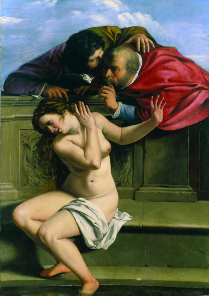 Artemisia Gentileschi: Susanna and the Elders