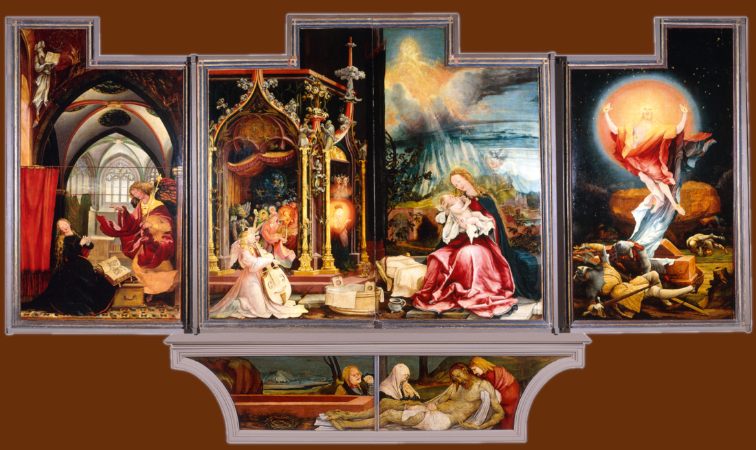Grunewald Isenheim Altarpiece The Second View