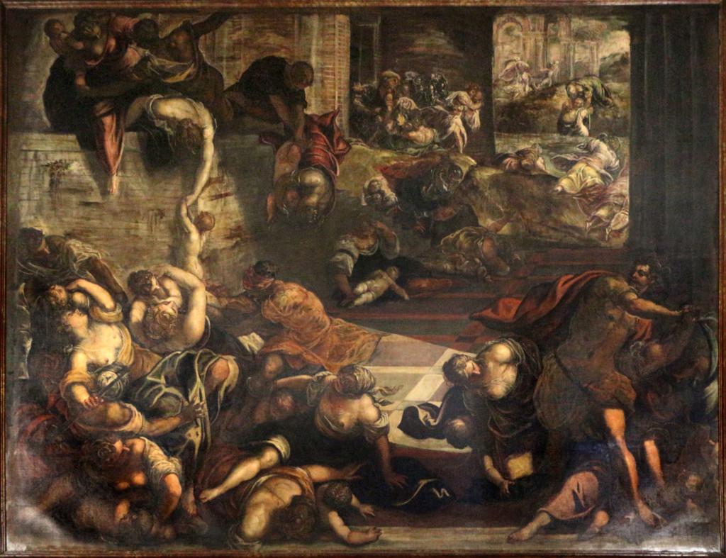 Le massacre des Innocents (Tintoret 1535-40)