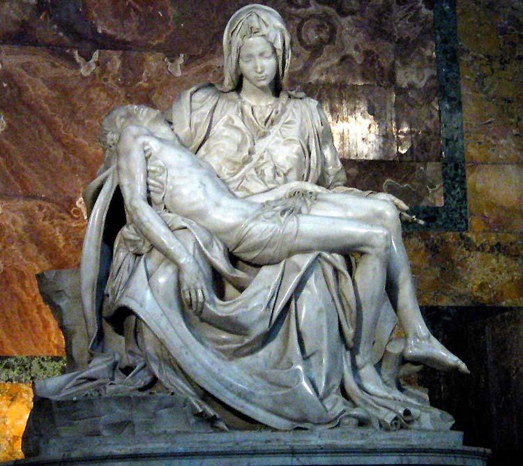 Michelangelo Buonarroti: Pietą