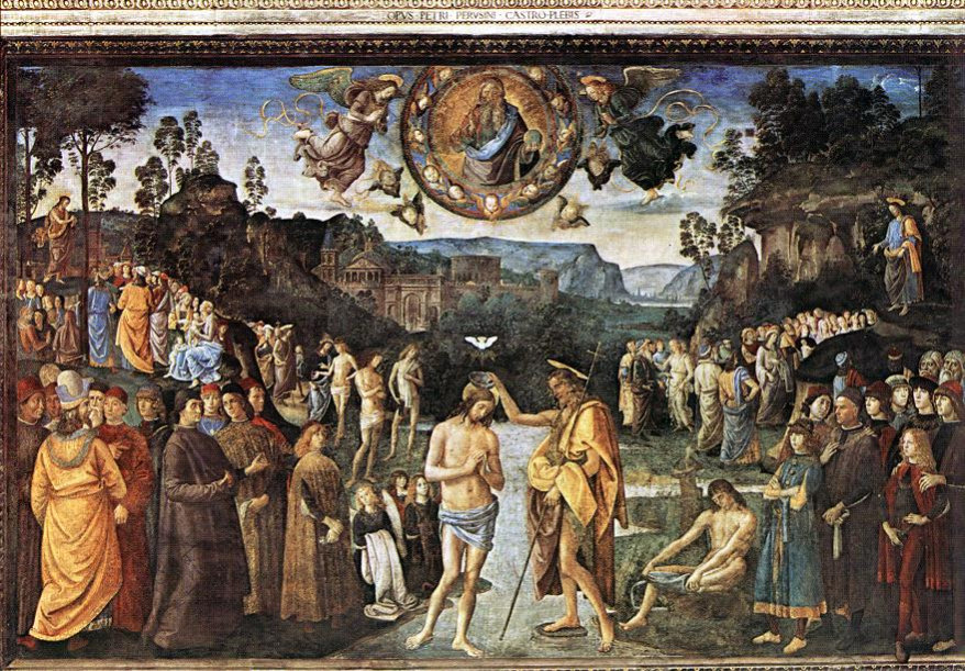 Pietro Perugino: The Baptism of Christ