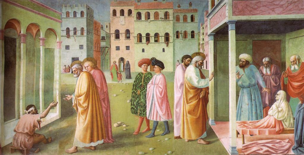 Masolino: Peter Heals the Crippled