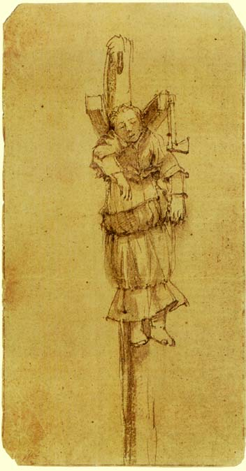 Rembrandt Harmensz. van Rijn: Elsje Christiaens, front