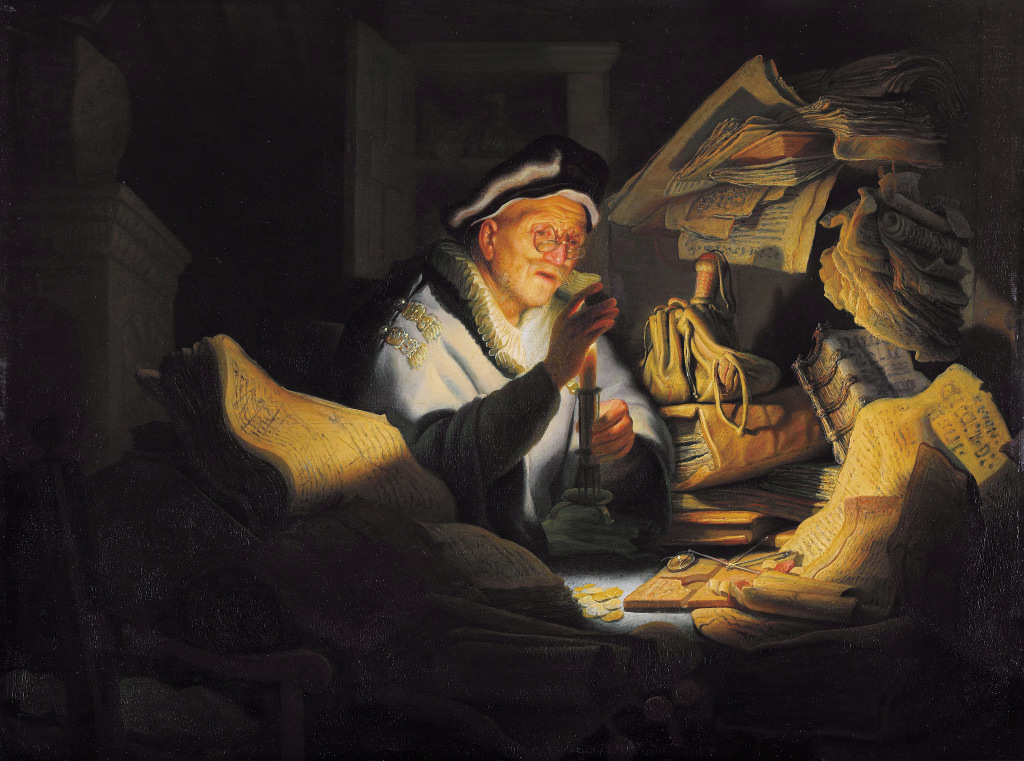 Rembrandt Harmensz. van Rijn: The rich fool