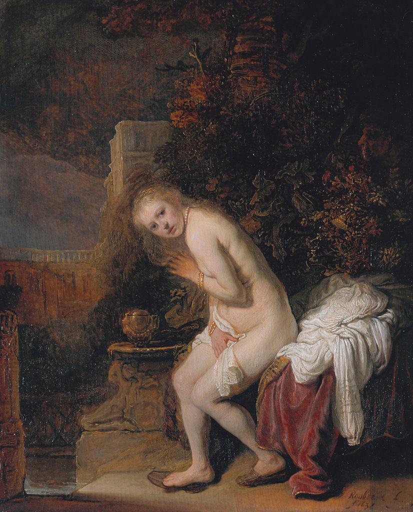 Rembrandt Harmensz. van Rijn: Susanna Bathing