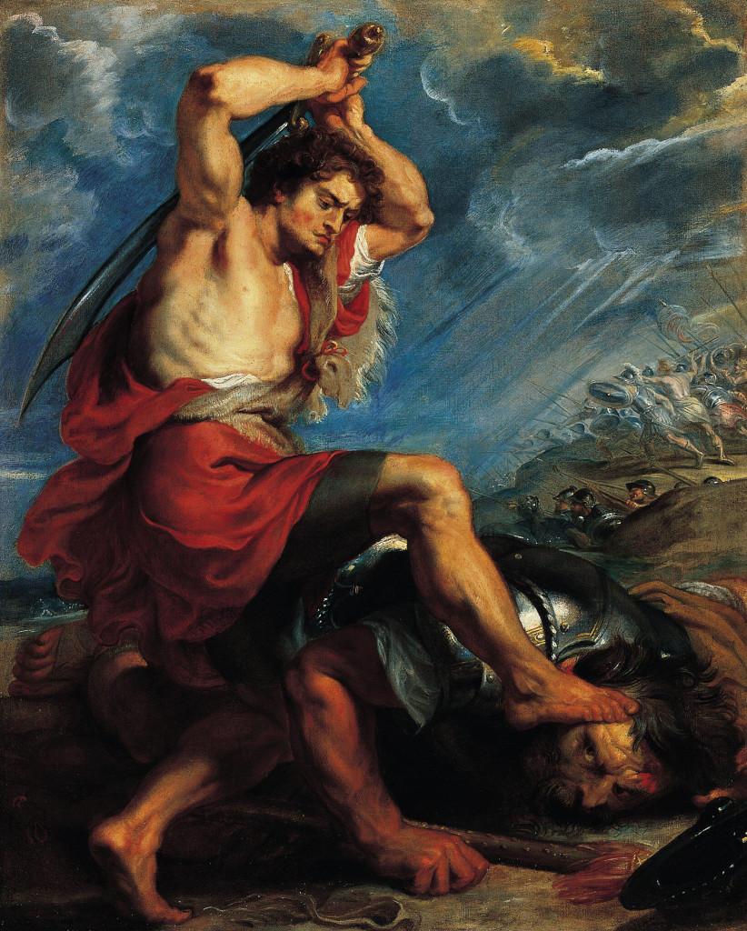Biblijski likovi Rubens_david_goliath