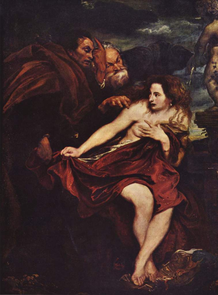 Anthony Van Dyck: Susanna and the Elders