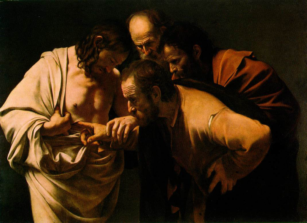Caravaggio: Doubting Thomas
