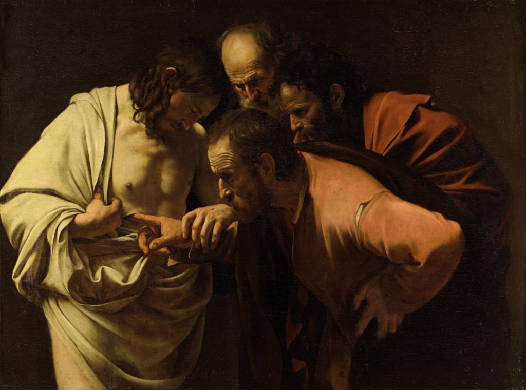 Caravaggio: Doubting Thomas
