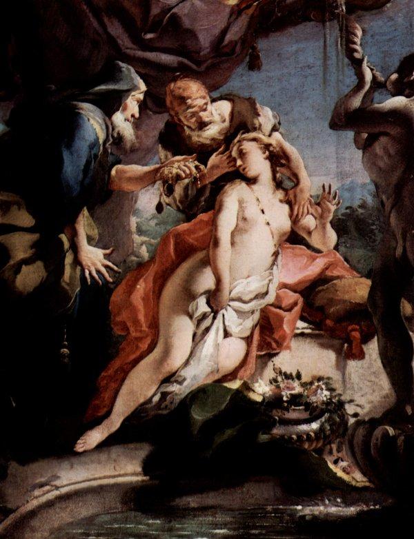 Giovan Battista Tiepolo: Susanna and the Elders