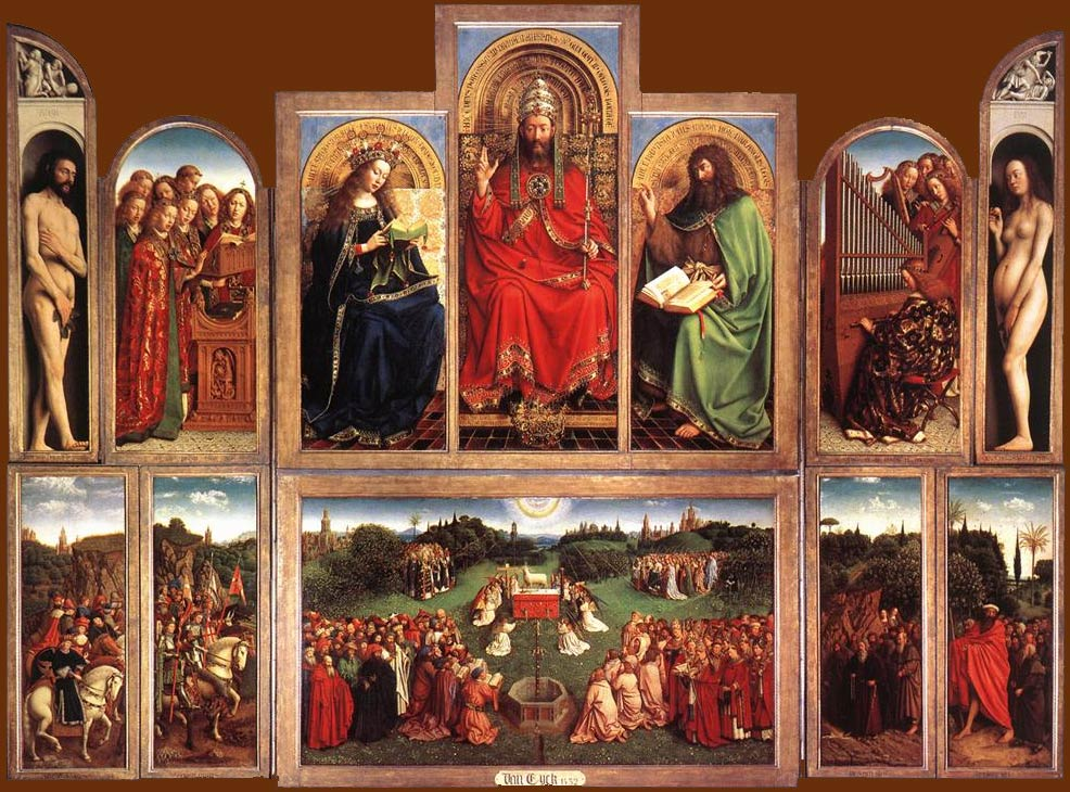 5eb513d545caa1 The Ghent Altarpiece  the truth about the most stolen artwork of all ...