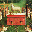 Jan van Eyck: The Ghent altarpiece: Adoration of the Lamb