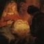 Rembrandt Harmensz. van Rijn: The Adoration of the Shepherds (1646 [2])