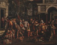 Pieter Aertsen: The Seven Acts of Mercy