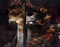 Il Tintoretto: The Annunciation