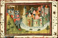 Azor masters: Holofernes Burns a City