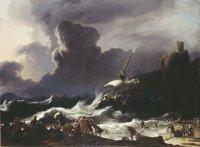 Ludolf Backhuysen: Paul's Shipwreck