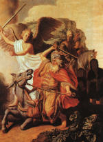 Rembrandt Harmensz. van Rijn: Balaam and the Ass