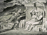William Blake: The Book of Job -  04