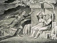 William Blake: The Book of Job -  04