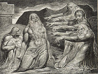 William Blake: The Book of Job -  10
