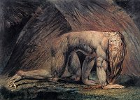 William Blake: Nebuchadnezzar