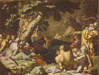 Abraham Bloemaert: The Feeding of the Multitude