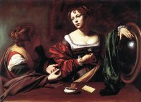 Caravaggio: Martha and Mary Magdalene