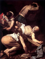 Caravaggio: The Crucifixion of St Peter