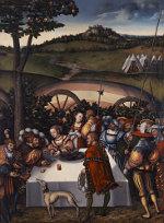 Lucas Cranach the Elder: Judith Dining with Holofernes