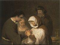 Arent de Gelder: Edna blesses Tobias and Sara