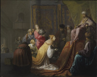 Willem de Poorter: The Queen of Sheba before King Solomon