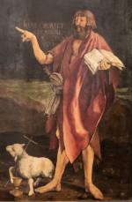 Matthias Gr�newald: John the Baptist