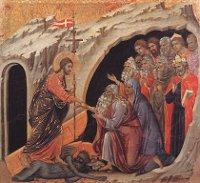 Duccio di Buoninsegna: Christ in limbo