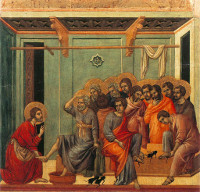 Duccio di Buoninsegna: The Washing of the Feet