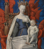 Virgin and Child (Melun diptych)