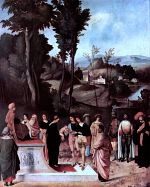 Giorgione: The Test of Fire of Moses