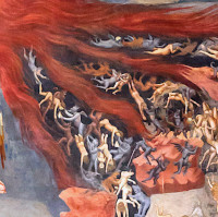 The Last Judgement - detail of hell [3]