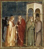 Giotto: Judas Betrays Christ
