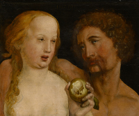 Hans Holbein the Younger: Adam and Eve