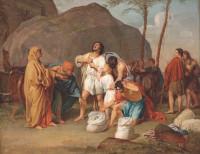 Alexander Ivanov: Joseph's Brothers Find the Silver Goblet in Benjamin's Sack