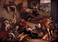 Il Tintoretto: Massacre of the Innocents