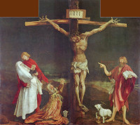 Matthias Gr�newald: The Crucifixion
