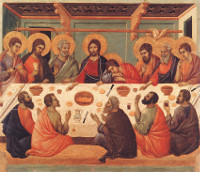 Duccio di Buoninsegna: The Last Supper