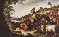 Pieter Lastman: Abraham on the Way to Canaan