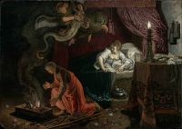 Pieter Lastman: The Wedding Night of Tobias and Sarah