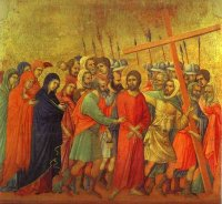 Duccio di Buoninsegna: Way to Calvary